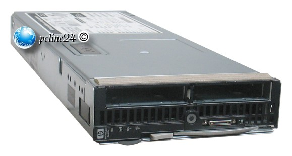 HP ProLiant BL460c 2x Xeon Quad Core E5430 @ 2,66GHz 8GB E200i Blade Server