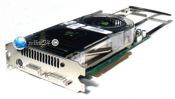 nVidia Quadro FX4600 768MB GDDR3 PCI-E (x16) 2x DVI