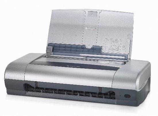 mobiler hp deskjet 450 drucker f r laptop notebook usb tintenstrahldrucker 10007794. Black Bedroom Furniture Sets. Home Design Ideas