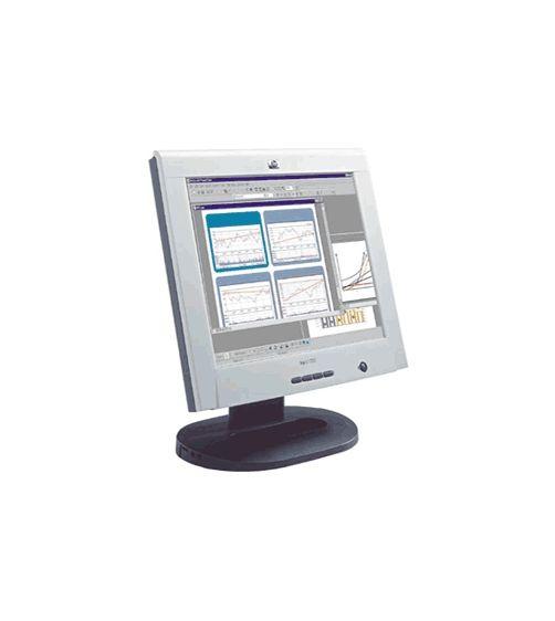 "17"" TFT LCD HP L1720 Pivot 1280 x 1024 Monitor ohne Netzteil B- Ware"