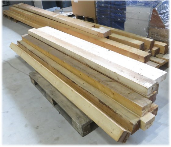 Holzbalken Kantholz 10x11 cm 8x 5,2 m und 6x 2,5 m Bauholz
