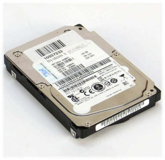"""2,5"""" IBM 146GB 15K SAS 6G 6Gb/s MBE2147RC HDD Festplatte"""