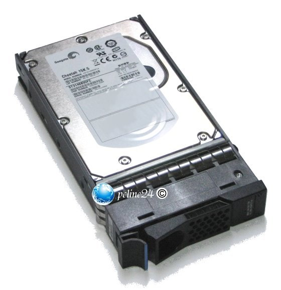 IBM FRU 95P5714 146GB 15K FC 40 Pin ST3146855FC im Tray NetApp Network Appliance Storage