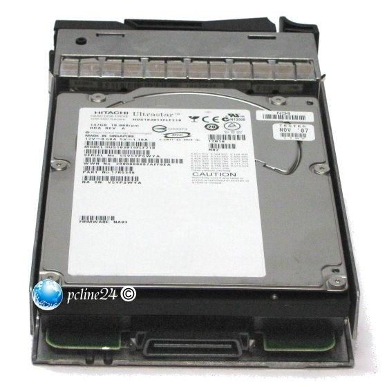IBM/NetAPP HUS103014FLF210 146GB 10K FC 40 Pin Fibre Channel im Tray EXN2000 N3700 EXN4000