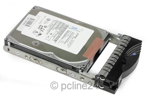 """3,5"""" IBM 146GB SAS 3Gb/s Single Port 15K xSeries eServer Tray HUS153014VLS300"""