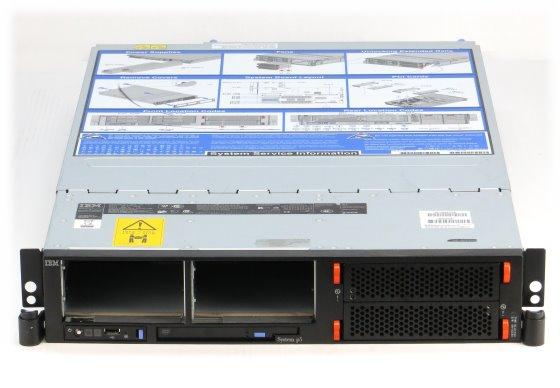 IBM System p5 Server Power5 @ 1,65GHz 4GB Server keine (Schächte sind leer) 9110-51A