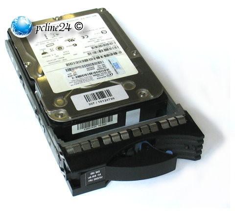 IBM 39R7348 72GB SAS 15k Fujitsu MAX3073RC Tray eServer xSeries 42R4131 HDD