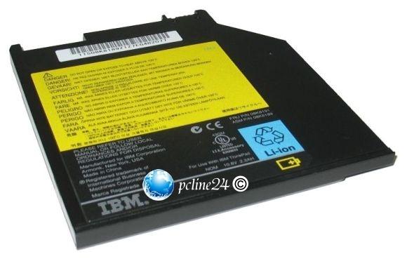 Original IBM Zusatz-Akku für T40 T41 T42 T43 R50 R51 R52 75% 08K8191