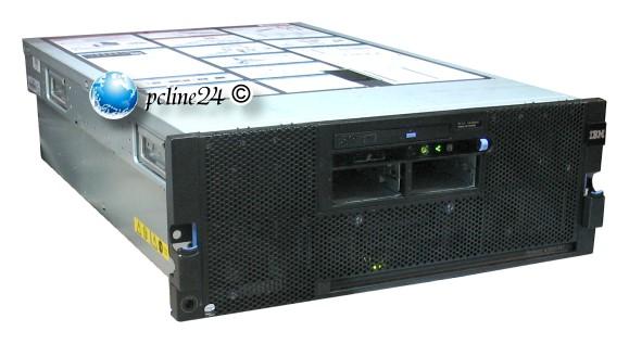 IBM System X3850 M2 4x Xeon Quad Core X7350 @ 2,93GHz 64GB ServeRAID-MR10k
