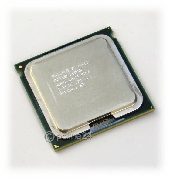 Intel Xeon Quad Core E5410 SLANW 2,33GHz 12MB 1333MHz Sockel 771