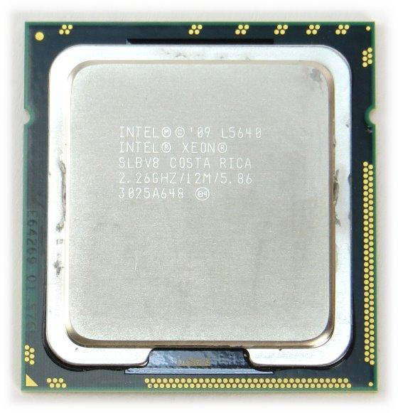 Intel Xeon Hexa / Six Core L5640 @ 2,26GHz SLBV8 Sockel FCLGA1366