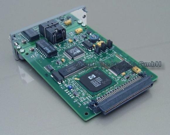 HP JetDirect 600N Printserver J3113A RJ-45 10/100 MBit
