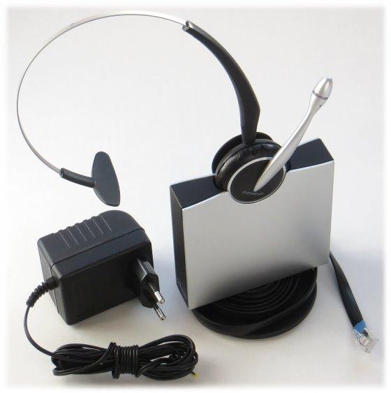 Jabra GN9120 DECT Headset schnurlos wireless mit Ladestation