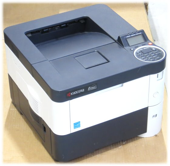 Kyocera FS-2100DN 40 ppm 256MB Duplex unter 20.000 Seiten LAN Laserdrucker B-Ware