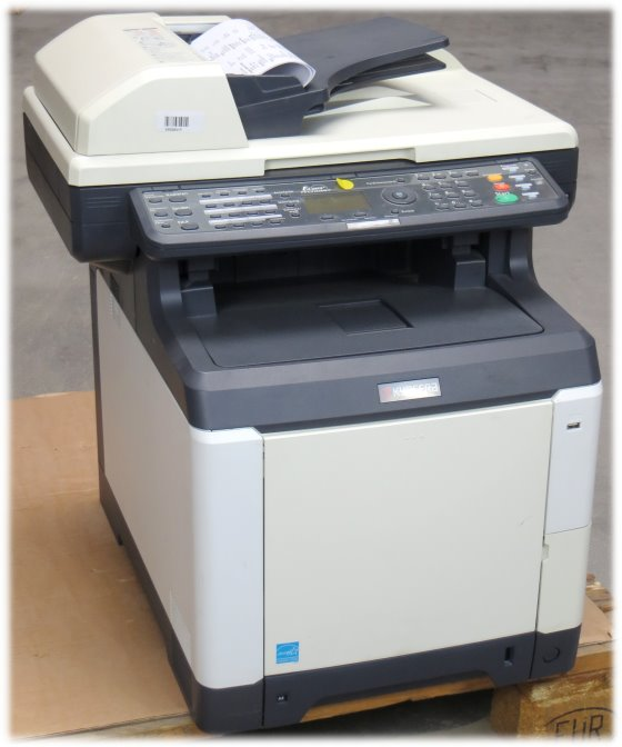 kyocera fs c2126mfp all in one fax kopierer scanner laserdrucker seiten vergilbt all in. Black Bedroom Furniture Sets. Home Design Ideas