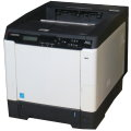 Kyocera FS-C5250DN 26 ppm 256MB Duplex LAN 23.450 Seiten Farblaserdrucker vergilbt