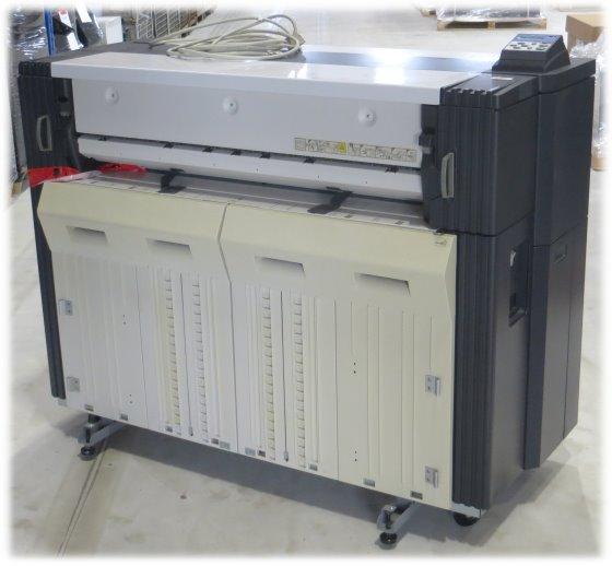 Kyocera KM-P4845W Plotter mit Scanner KM-S4850Wtechn. i.O. Geh. leicht vergilbt