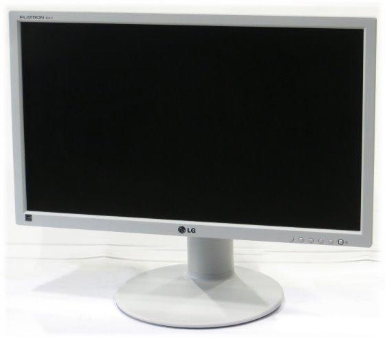 """24"""" TFT LCD LG FLATRON E2411PU-GN 1920 x 1080 Pivot LED Monitor mit Lautsprecher matt"""