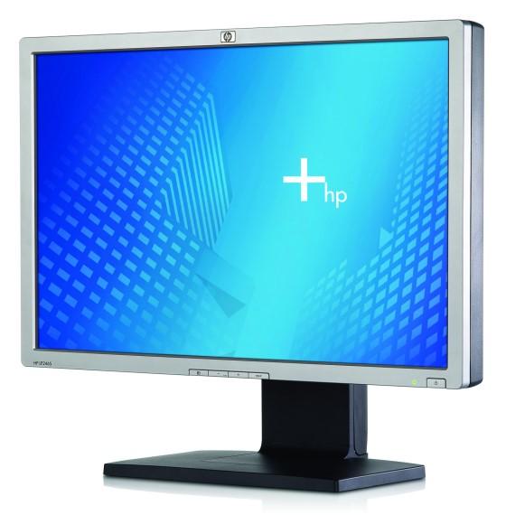 """24"""" LCD TFT HP LP2465 1000:1 8ms Full HD USB Pivot DVI"""