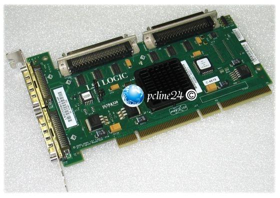 LSI Logic LSI22320BCS-HP U320 SCSI Controller PCI-X
