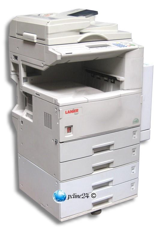 lanier 5222 din a3 laser kopierer drucker scanner netz. Black Bedroom Furniture Sets. Home Design Ideas