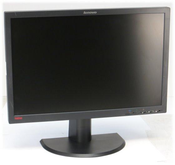 "24"" TFT LCD Lenovo L2440p 1920 x 1200 Pivot Monitor ohne Steuerungstasten"
