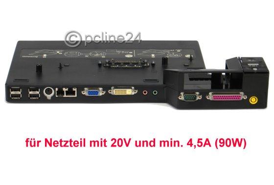 IBM Lenovo Mini Dock 2504 für T60 T61 R60 R61 T400 ohne Schlüssel