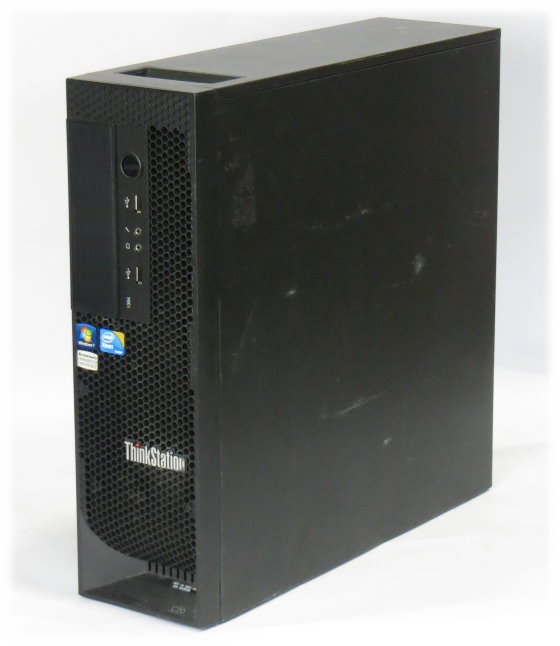 Lenovo ThinkStation C20 2x Xeon Quad Core E5620 @ 2,4GHz 12GB 2TB B-Ware