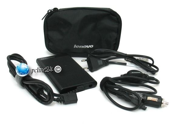 IBM Lenovo Slim Combo Adapter KFZ Netzteil T400 T500 T60 T61 T42