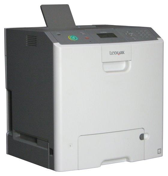 Lexmark C736dn 33 ppm 256MB Duplex LAN 52.320 Seiten Farblaserdrucker ohne Toner