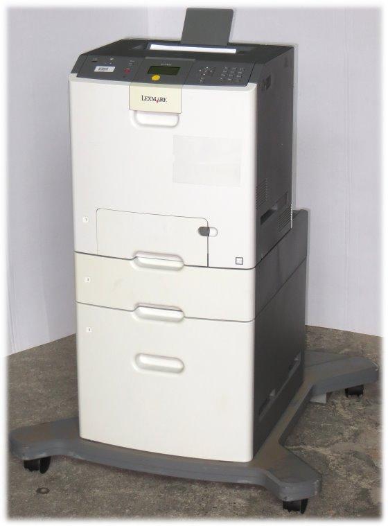 Lexmark C736dtn 33ppm 256MB Duplex NETZ 20.550 Seiten Farblaserdrucker B-Ware