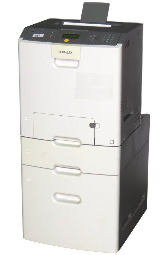 Lexmark C736dtn 33ppm 256MB Duplex LAN Farblaserdrucker ohne Toner/Trommel