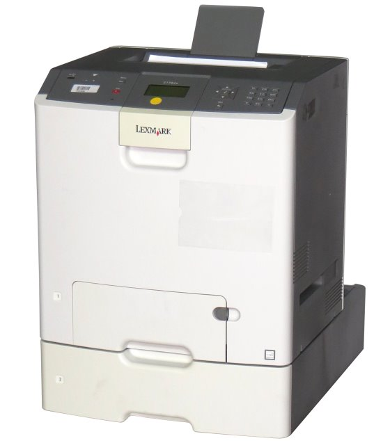 Lexmark C736dtn 33ppm 256MB Duplex LAN Farblaserdrucker B-Ware