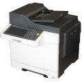 Lexmark CX510de All-in-One FAX Kopierer Scanner Farblaserdrucker 66.100 Seiten