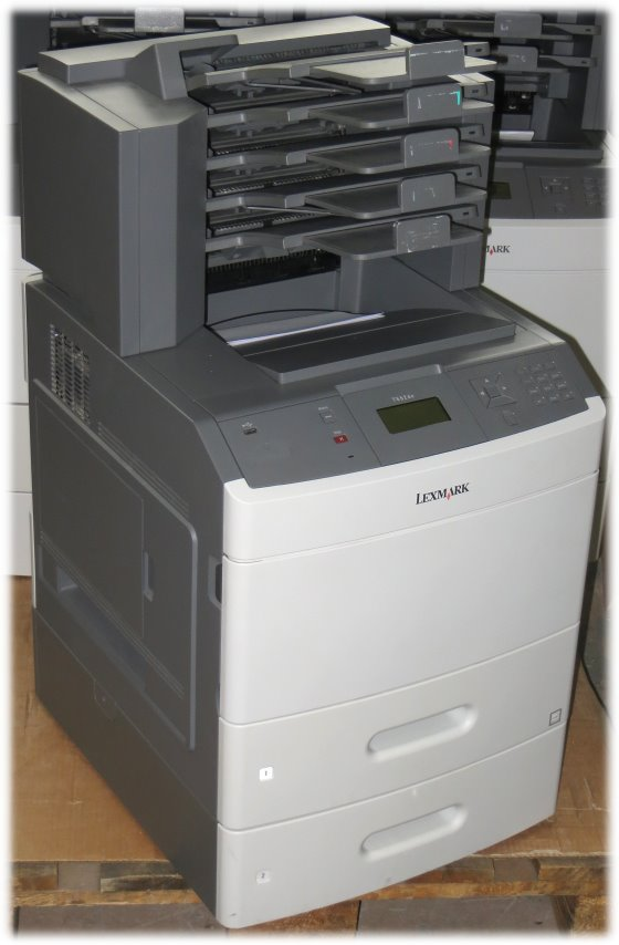lexmark t652dtn 48 ppm 128mb duplex laserdrucker mit 5 bin. Black Bedroom Furniture Sets. Home Design Ideas