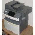 Lexmark X464de FAX Kopierer Scanner Laserdrucker ADF Duplex 28.500 Seiten B-Ware