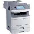 Lexmark X466dte All-in-One FAX ADF Duplex Kopierer Scanner Drucker LAN 73.500 Seiten