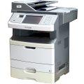 Lexmark X466dte All-in-One FAX ADF Duplex Kopierer Drucker LAN 33.800 Seiten vergilbt