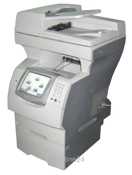 lexmark x646e x646dte all in one laserdrucker kopierer fax. Black Bedroom Furniture Sets. Home Design Ideas