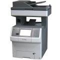 Lexmark X738de All-in-One FAX Farb-Kopierer Laserdrucker ohne Tonerkassetten
