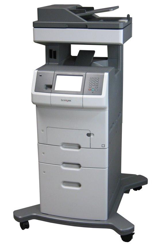Lexmark X736dte All-in-One FAX Farb-Kopierer Scanner ADF Duplex B-Ware