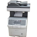 Lexmark X746de All-in-One Farblaserdrucker FAX Kopierer ADF Scanner