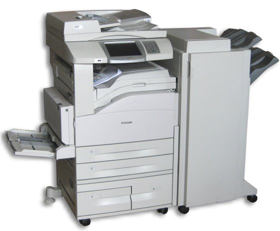 lexmark x850e all in one din a3 drucker scanner kopierer. Black Bedroom Furniture Sets. Home Design Ideas