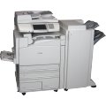 Lexmark X945e All-in-One FAX Farb-Kopierer ADF Duplex Finisher ohne Toner/Bildtrommel