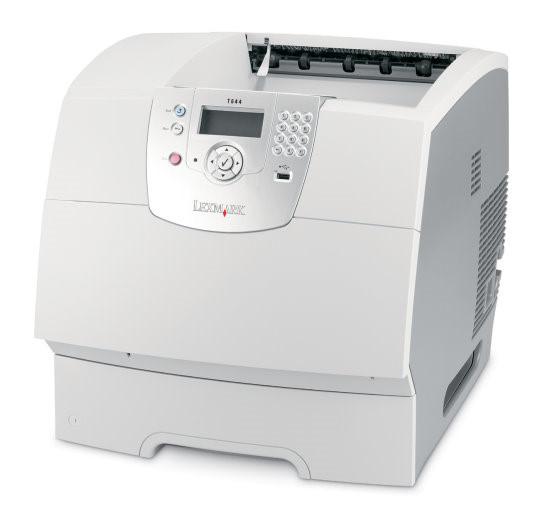 Lexmark-T644n-48-Seiten-Min-128MB-NETZ-Laserdrucker-inkl-Toner