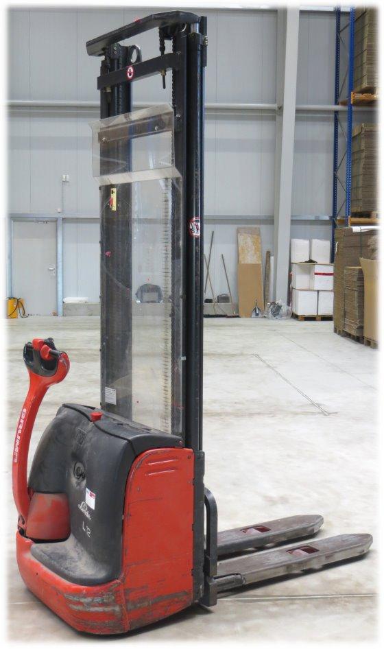 Linde L12 Hochhubwagen Stapler 4,2m (Akku schwach, keine UVV-Prüfung) bis zu 1200 kg