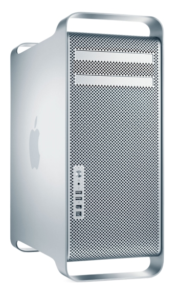 Apple Mac Pro 1,1 A1186 Quad Core 2,66GHz 4GB 500GB B-Ware (Standfuß verbogen)