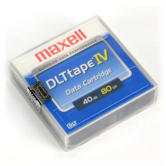 Maxell DLTtape IV 40/80 GB NEU/NEW für DLT 4000 7000 8000 DLT1 & VS80