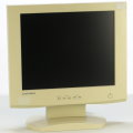 "18"" TFT LCD Mitsubishi LSA820W 1280 x 1024 Monitor ohne Netzteil/Abdeckung B- Ware"