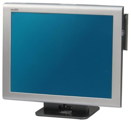 """15"""" Touchscreen TFT-Monitor MultiQ MQ215 1024x768 12V ohne serielles Kabel B-Ware"""